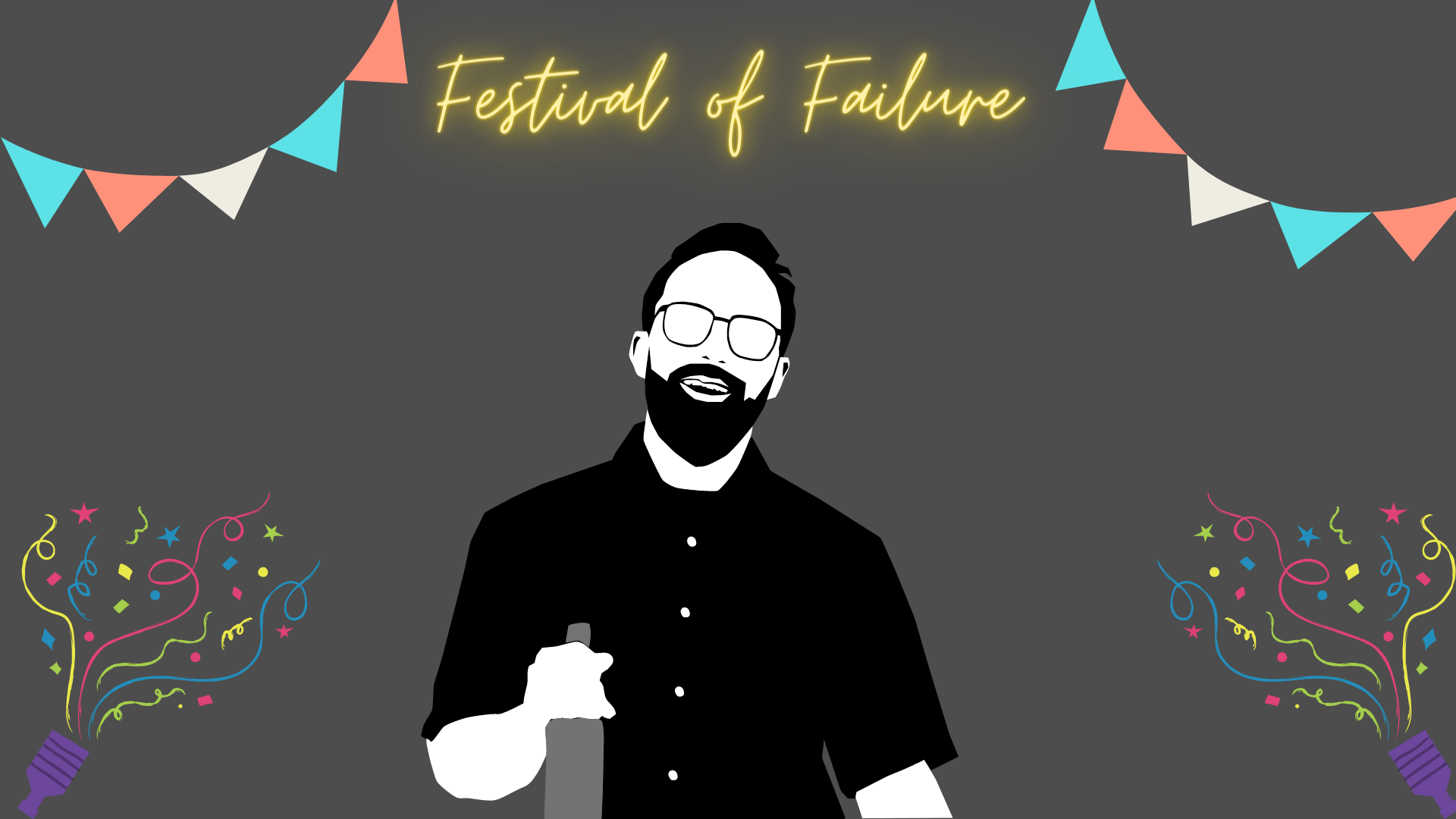 zoom background for festival of failure